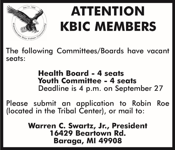 36-2021 KBIC Committee Board Health Board Youth Committee Vacant Seats Deadl.jpg